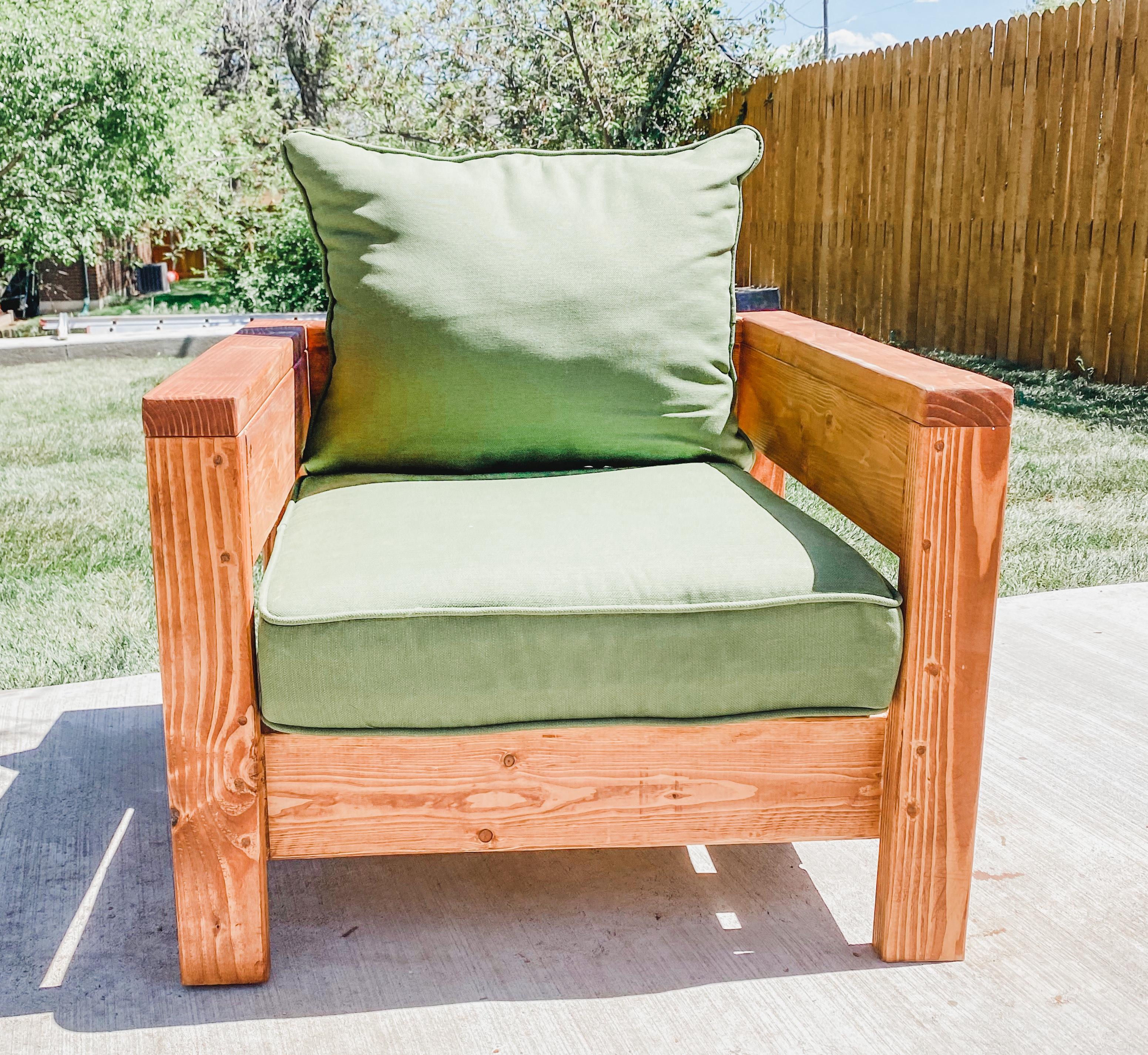 Diy Modern Wood Patio Chairs